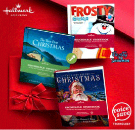 Hallmark Holiday Recordable Storybooks