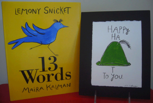13 Words by Lemony Snicket