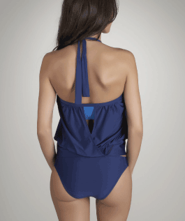 SwimSpot Opening Day Peekaboo Tankini by Lisa Vogel
