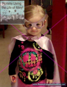 BabyPop Designs Superhero Cape and Mask