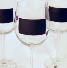 Chalk Talk Wine Glasses