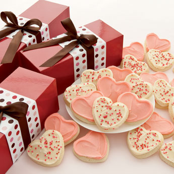 Cheryl's Frosted Hearts Valentine Gift Box