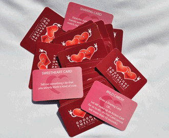 Goodnight Sweetheart Couple's Edition Card Game