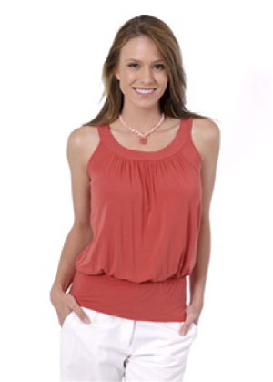 Green Earth Bamboo Women's Circle Top