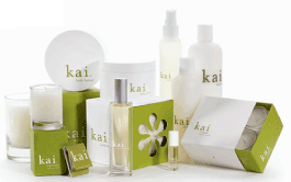 Kai Fragrance Product Assortment