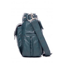 Kelly Moore Classic Bag in Muted Teal