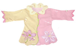 Kidorable Lotus Flower Rain Coat