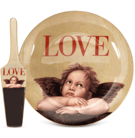 the p.s. collection Love Cupid Cake Plate with Server