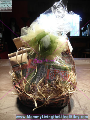 Women's Bean Project Entertaining Basket
