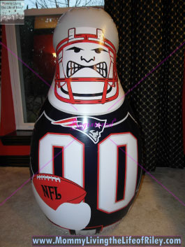 Kaskey Kids New England Patriots Bop Bag