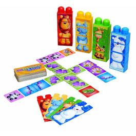 MEGA Bloks Domino Build