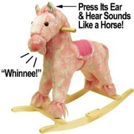 Pink Rocking Horse from Hayneedle