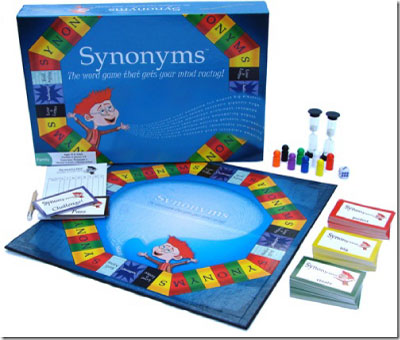 Synonyms Board Game from Lindergaff Publishing