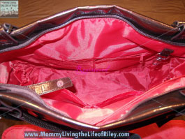 Amy Michelle Cosmo Diaper Bag in Pearlized Chocolate