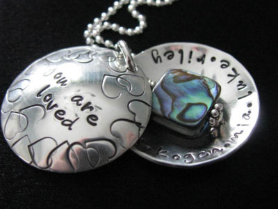 Magpie Designz Blessings Locket