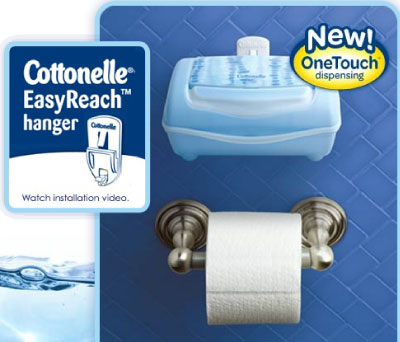 Cottonelle Fresh Flushable Moist Wipes