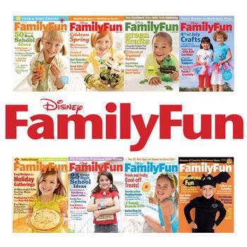 Disney FamilyFun Magazine