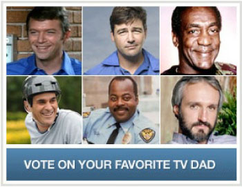 Favorite TV Dad Contest