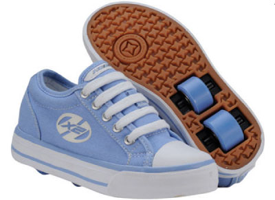Heelys HX2 Jazzy Vista Blue/White Skate Shoes
