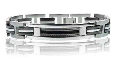 Primo Jewels Men's Stainless Steel Bracelet