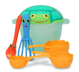 Melissa & Doug Seaside Sidekicks Sand Baking Set