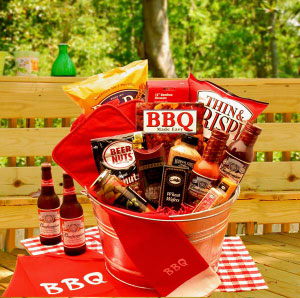 Baskets Etc By Kay Bud Time BBQ Gift Set