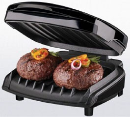 George Foreman Grills Remove Up to 42% of Fat