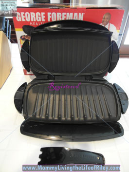 George Foreman The Next Grilleration Removable Plate Grill