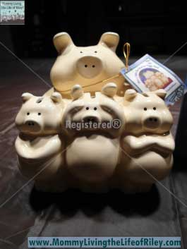 Prosperity 4 Kids Money Mama & The Three Little Pigs Bank