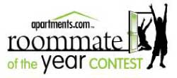 Roommate of the Year Contest from Apartments.com