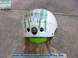 TykeRider Little Nutty Safety Helmet in Drippy