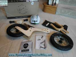 TykeRider Easy Rider Lite Balance Bike in Natural