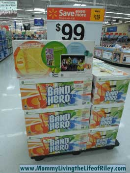 Walmart Band Hero Video Game