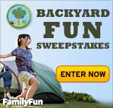 FamilyFun Backyard Fun Sweepstakes