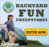 FamilyFun Backyard Fun Sweepstakes