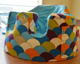 Bumbo Baby Seat and Cover from Keen Distribution