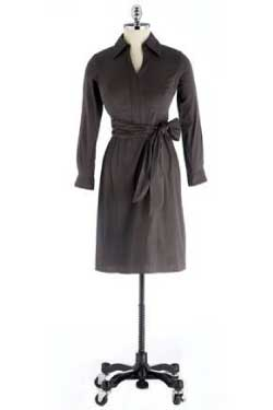 Carissa Rose Katerina Long Sleeve Shirtdress