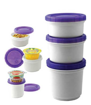 Cool Gear International EZ-Freeze StayFit Snack Stacker