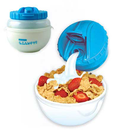 Cool Gear International EZ-Freeze StayFit Deluxe Cereal Kit