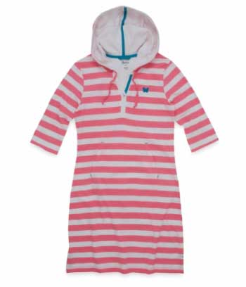 Hatley Spring Song Hooded Women's Beach Cover Up
