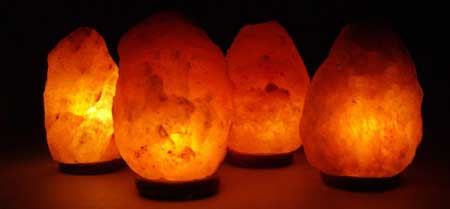 Himalyan Salt Shop Natural Shape Salt Lamps