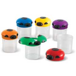 Learning Resources Big View Bug Jars, Set of 6