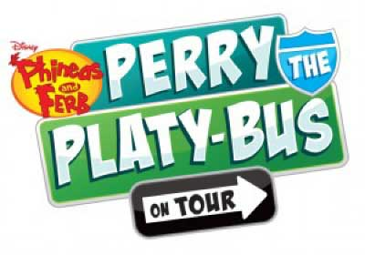 Perry the Platy-bus On Tour