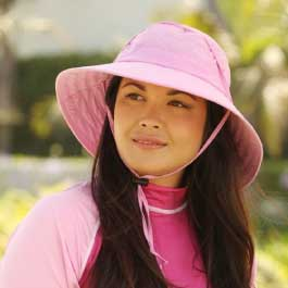 Sun Protection Zone Women's Booney Hat