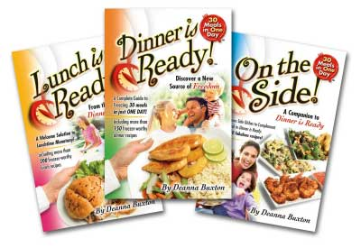 30 Meals in One Day Cookbooks
