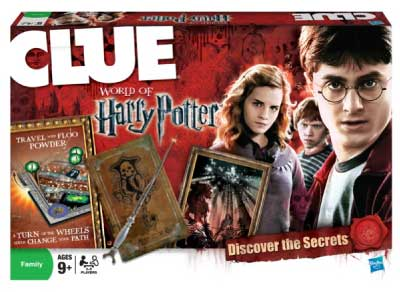 Hasbro Games CLUE: World of Harry Potter