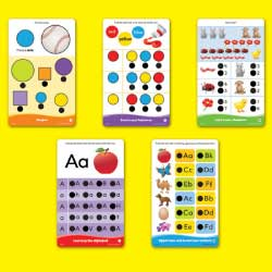 Educational Insights Hot Dots Jr. Getting Ready for School Set