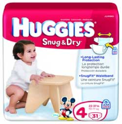 Huggies Snug & Dry Diapers