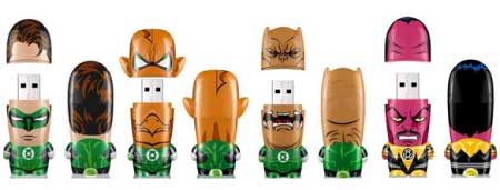 MIMOBOT Green Lantern USB Flash Drives