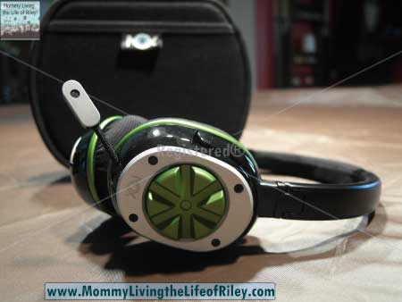 NOX Audio Specialist Gaming Headset in Green
